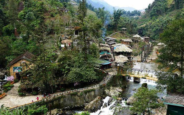 Bản Cát Cát - địa điểm du lịch nổi tiếng ở Sapa